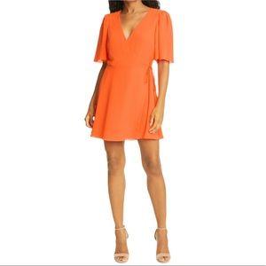 ALICE + OLIVIA - Women's Sandra Wrap Dress